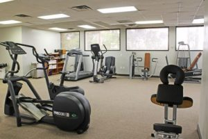 Our Mesa physical therapy office includes state of the art equipment.