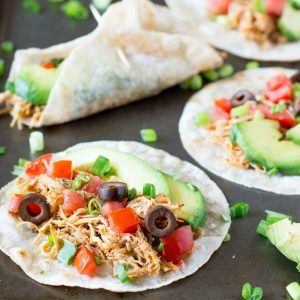 These Chipotle chicken tacos are delicious and healthy